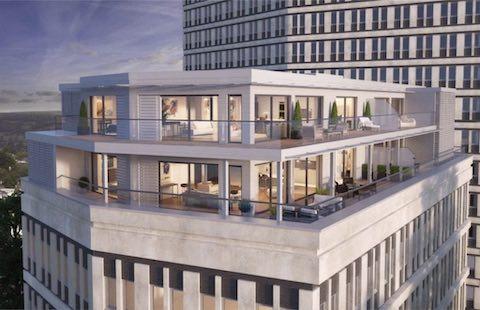 Belvidere Lifts Case Study Montpellier House Penthouse Apartments, Cheltenham