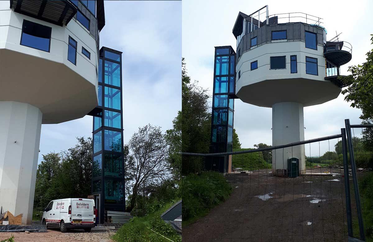 Belvidere Lifts Passenger lift Water Tower Bridgnorth