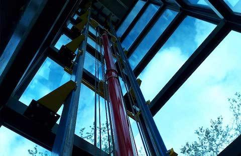 Belvidere Lifts Case Study Water Tower Bridgnorth