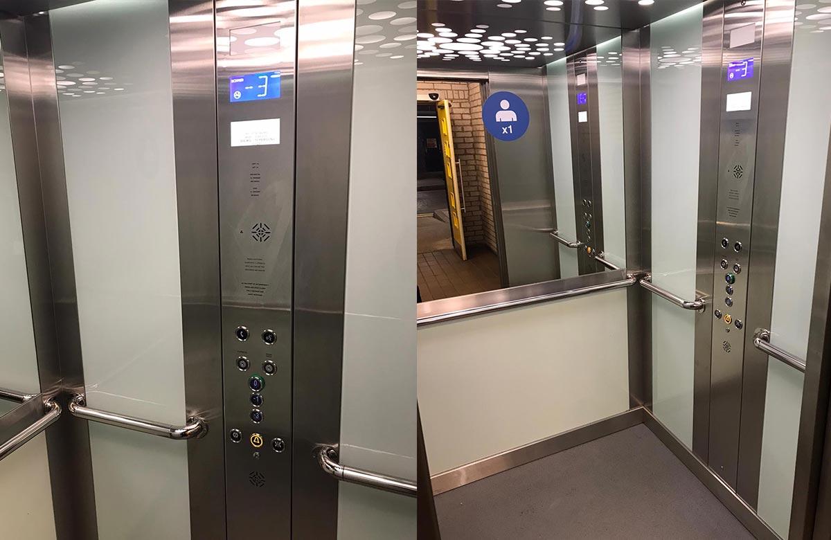 Belvidere Lifts Passenger Lift Controls Cardiff