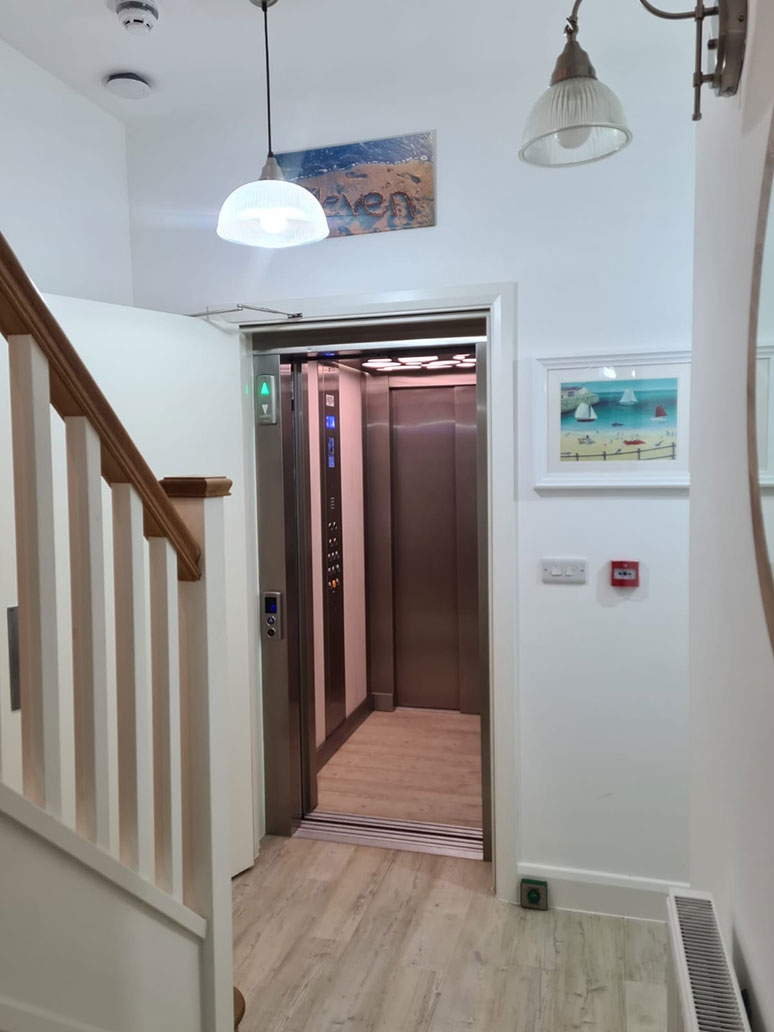 Belvidere Lifts Case Study Home Lift Image Barmouth