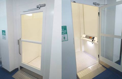 Belvidere Lifts Case Study Lanyon Bowdler Hereford