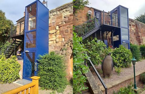Belvidere Lifts Case Study Private Residence Shrewsbury, Shropshire