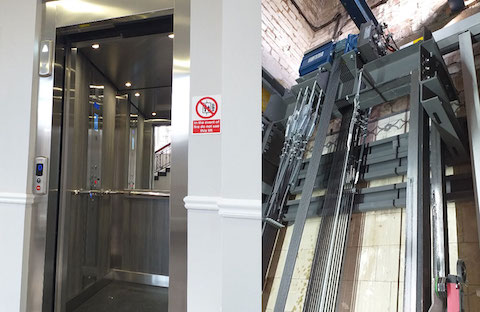Belvidere Lifts Case Study Thornes Hall Apartments